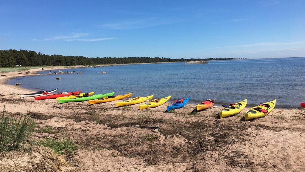 Kayaking for groups in Hanko